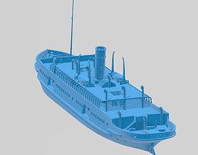 3D print model SS Nomadic little sister of the Titanic - 2