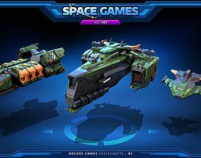 RTS - Space Games Vol - 01 3D asset