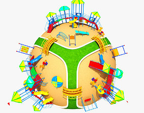 3D Planet Park 02