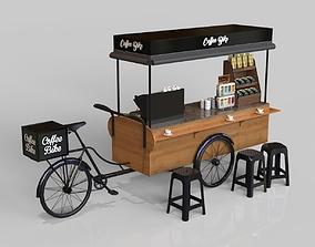 Coffee Bike 3D model