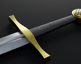 3D model Darksword armory Excalibur