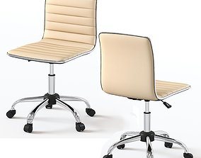 leather office 3D model Office chair