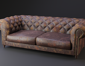 Chesterfield 3D model interior
