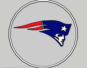 Patriots Logo 3D print model