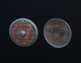 3D asset Nomad Shield