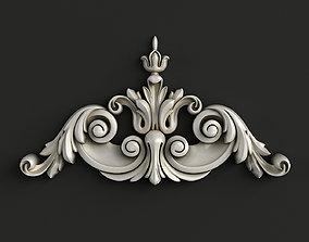 Carved decor model 3D