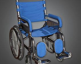 Wheel Chair HPL - PBR Game Ready 3D asset