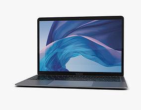 Apple MacBook Air 2018 Space Gray 3D model