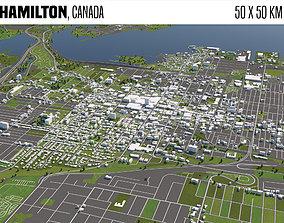 Hamilton Canada 3D