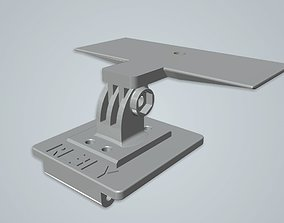 GoPro or camera rc car mount for 3D printable model 3