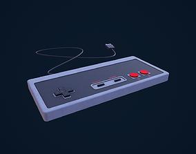 NES Pad 3D model
