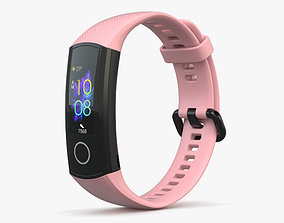 3D Honor Band 5 Pink