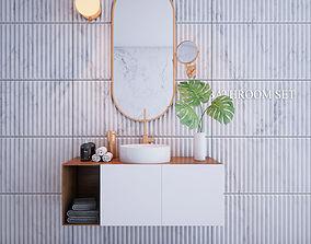 Bathroom Set 2 3D model