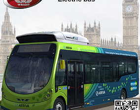 Wrightbus Streetlite Arriva Electric Bus 2014 3D model