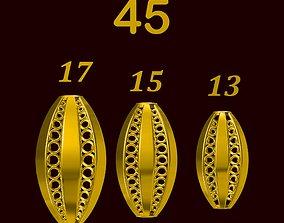 Para ball jewelery gold printable plain studded 45