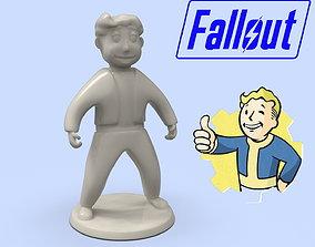 Fallout Vault Boy standard model for 3D printing