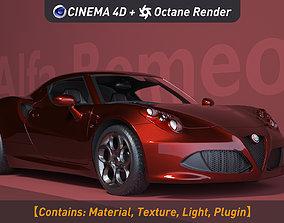 Alfa Romeo 4C 3D