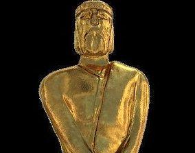 Martin Fierro Award Statuette 3D model fierro