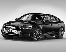 3D Audi A5 Sportback 2017
