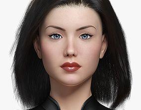 3D asset Bond Girl II