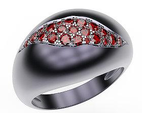 Cracked Ring 3D print model