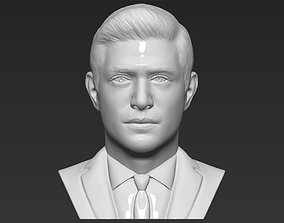 Dean Winchester bust 3D printing ready stl obj formats