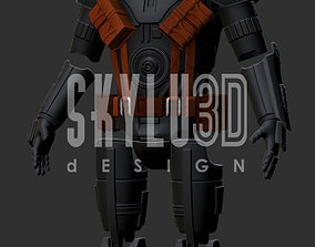 Q9 Zero Wearable Costume 3D Print ready STL
