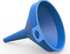 3D model Plastic Funnel