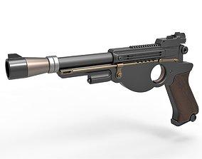 Mando Blaster 3D model