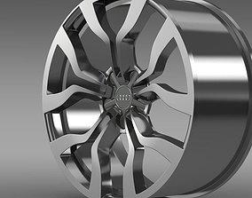 Audi R8 V10 spyder 2013 rim 3D