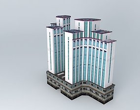3D model Riverbank District Government