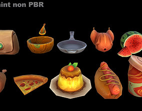 PBR Handpainted model pack