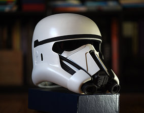 Death Trooper helmet V2 - Free for who 3D print model 3