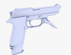M93 Raffica 3D model