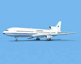 3D Lockheed L-1011 Royal Airforce 1