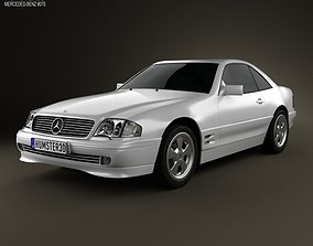 Mercedes-Benz SL-class R129 2002 3D