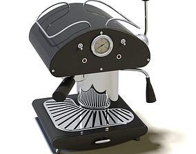 Modern Espresso Machine 3D model