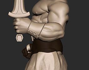 Viking statue 3D print model