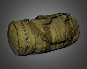 3D asset Military Backpack 01 - MLT - PBR Game Ready