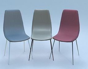 3D asset Chair2 for interior cafe and kitchen