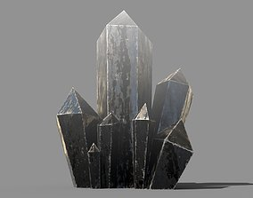 Crystal Low-poly 3D model