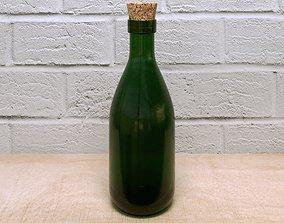 Wine Bottle 3D asset