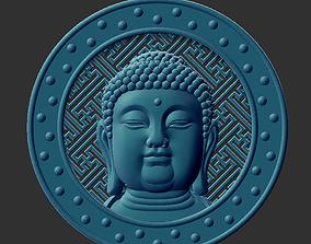 Buddha Head sculpture 3D print model