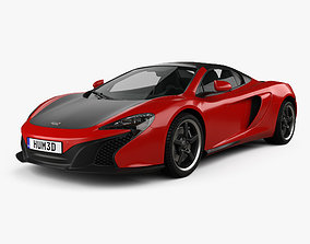 McLaren 650S Can-Am with HQ interior 2016 3D