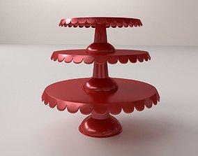 Cake Stand V3 3D model
