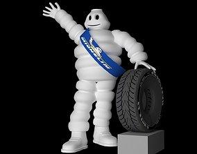 MichelinCharacter 3D