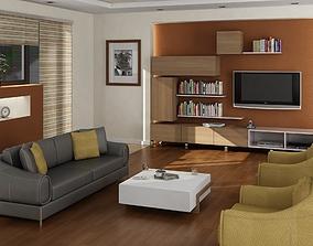 LIVING ROOM koltuk 3D