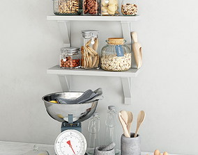 3D Kitchen set 3