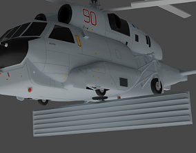 3D Kamov - Ka-31 - The AWACS helicopter