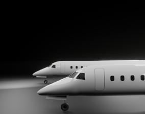 Embraer E135 E145 Family 3D